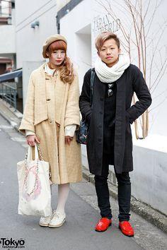 Urara (left) & Arai (right) - both 22 years old | 27 March 2014 |