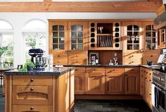updated counters would help our stock oak kitchen!