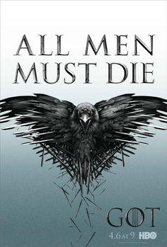 Game of Thrones S4: All men must die.