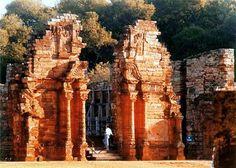 Ruinas de San Ignacio. Ruinas jesuíticas Pcia Misiones.Arg