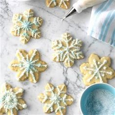 Vanilla-Butter Sugar Cookies Recipe -These are one of my favorite cookies to bake for Christmas. The dough recipe is versatile and you can use it for other holidays, too. Children like to help with decorating. —Cynthia Ettel, Hutchinson, Minnesota