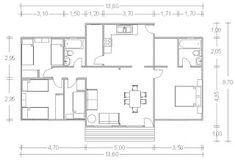 Planos Casas de Madera Prefabricadas: Planos Viviendas desde 150 m2