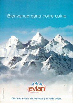 Les Alpes : L'usine de l'eau d'Evian ! :)