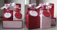Stampin up mini milk carton 4 pack giftset valentines day. www.biancahobbyhoek.nl
