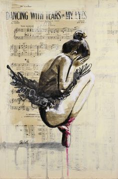 "Sara Riches; ""Dancing with Tears in my Eyes"""