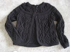 Briar Rose Cardigan. (Free pattern) Gorgeous!.