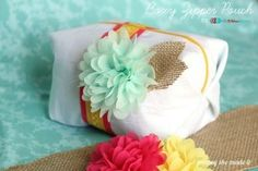 Boxy Zipper Pouch, 2nd Blogger Competition #1