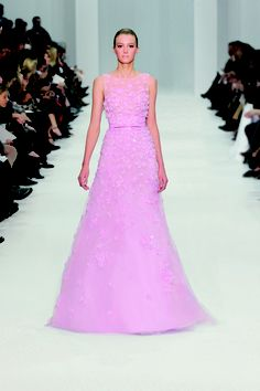 Love this color - ELIE SAAB Haute Couture Spring Summer 2012