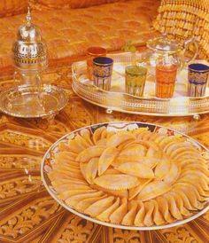 La Cuisine marocaine الطبخ المغربي B - كعب الغزال - طرق تقديم الشاي ا… - Le blog de katty72
