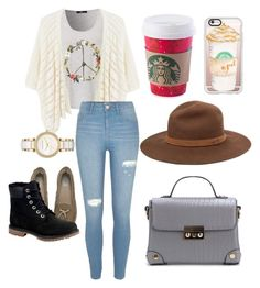 """""""Untitled #34"""" by itspaying on Polyvore featuring MANGO, River Island, UGG Australia, Casetify, Michael Kors, Timberland and rag & bone"""