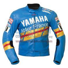 NIALL MACKENZIE YAMAHA GP 1991 LEATHER JACKET for $360.00 - https://www.leathercollection.com/en-we/niall-mackenzie-yamaha-gp-1991-leather-jacket.html