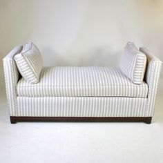 Gray and White Daybed from Furbish