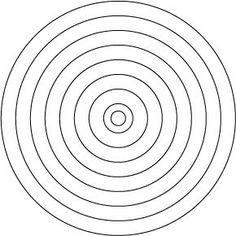 Free Quilting Stencils | Quilt stencils_circles(1.5in)
