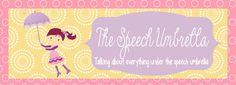 The Speech Umbrella: Stuttering and Fluency Speech Language Therapy, Speech Language Pathology, Speech And Language, Free Activities, Therapy Activities, Therapy Ideas, Preschool Speech Therapy, King's Speech, Apraxia