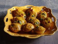 Recette Apéritif : Madeleines jambon et olives par Lachaumieredecharo
