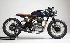 'Loopy' Royal Enfield Continental – KR Customs