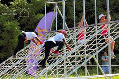 Obstacle Racing Net Climb