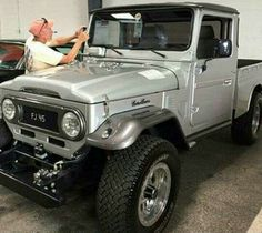Foto Toyota Cruiser, Toyota Fj40, Toyota Trucks, Toyota Cars, Fj Cruiser, Jeep 4x4, Jeep Truck, Daihatsu, Expedition Vehicle