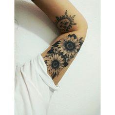 hippie tattoo 720364902885928720 - Source by mjwisener Sunflower Mandala Tattoo, Sunflower Tattoo Sleeve, Sunflower Tattoos, Baby Tattoos, Cute Tattoos, Body Art Tattoos, Small Tattoos, Sleeve Tattoos For Women, Tattoo Sleeve Designs