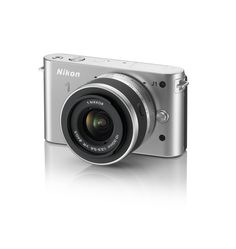 Nikon 1 J1 10.1 MP HD Digital Camera (for compact travel) - in white