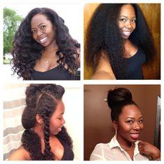 Chiology natural long hair .