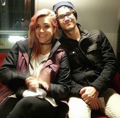 Darren Criss and Mia Swier