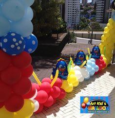 Infantil By Raquel Peralli e Art Kids Balloon | Dê um toque especial para sua festa! Balões, Mesas Temáticas, Cenários e Provençais