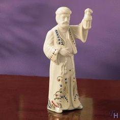 Lenox China Jewel Nativity Innkeeper. #Lenox #Statue #Sculpture #Figurine #Decor #Gift #gosstudio .★ We recommend Gift Shop: http://www.zazzle.com/vintagestylestudio ★