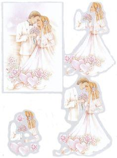mariage 3D ark til kort