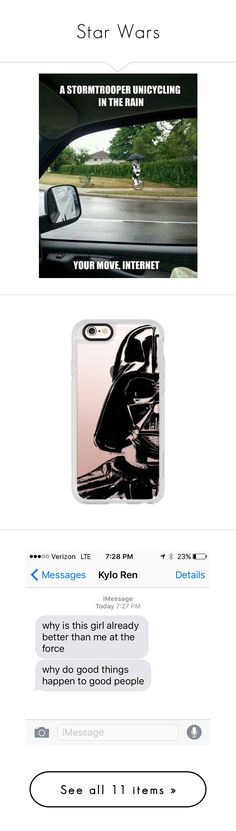 """Star Wars"" by thesweetdangerparade ❤ liked on Polyvore featuring pictures, quotes, funny, backgrounds, words, text, phrase, saying, accessories and tech accessories"