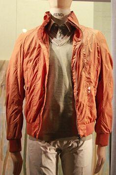Orange Jacket, Fendi