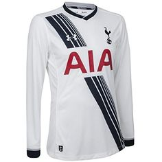 8b096f5fa Amazon.com   2015-2016 Tottenham Home Long Sleeve Football Shirt   Sports    Outdoors