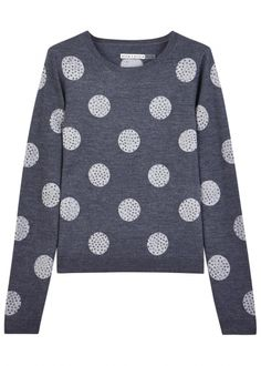 Celyn polka dot wool jumper - Alice & Olivia