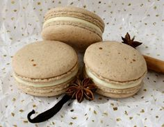 #MeatlessMonday - Vanilla Chai Macarons: Sign up for weekly recipes: https://secure.humanesociety.org/site/SPageServer?pagename=meatlessmondaysignup #aquafaba