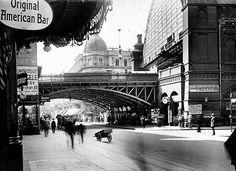 Bahnhof Friedrichstrasse vor dem Umbau 1914
