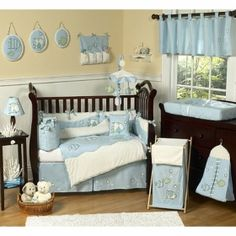 Baby Nursery Crib Bedding Set - Go Fish