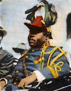 Marcus Garvey, Art Print by Granger. All prints are professionally printed, packaged, and shipped within 3 - 4 business days. Choose from multiple sizes and hundreds of frame and mat options. African American Artwork, African Art, African Culture, African American History, Jamaican Restaurant, Haitian Revolution, Africa Tattoos, Marcus Garvey, Haitian Art