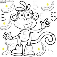 Numbers Preschool, Kindergarten Math, Math Activities, Preschool Activities, Abc Coloring Pages, Activity Sheets For Kids, Printable Preschool Worksheets, Teacher Inspiration, Letter A Crafts