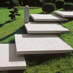 Conceo Granithell Stufenplatten 04