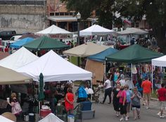 Goliad, Tx. Market Days 2nd Saturday of every month 9am-4pm (Farmer's Market, Crafts Far, Festival) They have over 170 booths and vendors!
