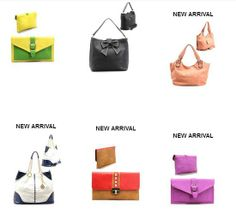 Awesome colors at www.klassybags.com