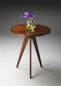 Butler Loft Antique Cherry Wood Accent Table