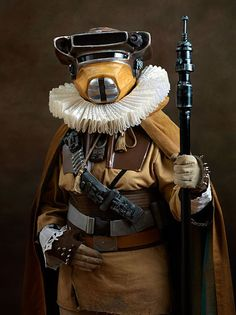 Superheroes and Supervillains Rendered as Flemish Paintings