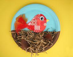 whatchu talkin bout willis?: Fiskars: Crafting with Kids: Birds Nest Craft