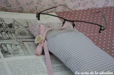 Funda de gafas. www.lacestadelaabuelita.com