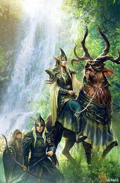 El paso de los elfos. Imagen de Fang WangLlin