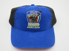 Thor NYPD Marvel Comics Blue Youth Childrens Size Snapback Hat Cap  #Bioworld #BaseballCap