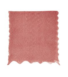 Thin lace scarf in Blossom Pink - Eric Bompard