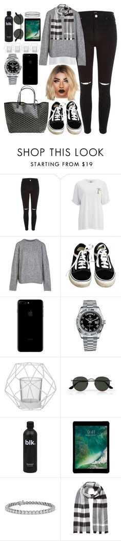 """""""*1721"""" by asoc10 ❤ liked on Polyvore featuring River Island, Zoe Karssen, Vans, Goyard, Rolex, Bloomingville, Ray-Ban, Blue Nile, Burberry and Work"""