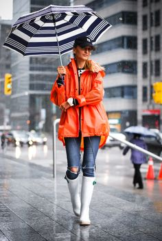 Nasty Gal Jeffrey Campbell Stormy Chelsea Rain Boot for $55 / Wantering #yourwinterbootguide